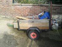 Small car trailer,
