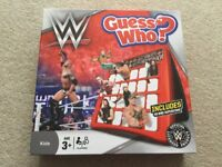 WWE Guess Who ? Game NEW