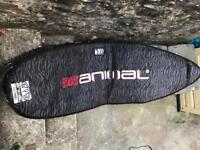 Animal soft case for surfboard