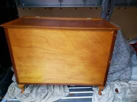 Large 1920s bedding box