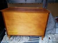 Large 1920s bedding box