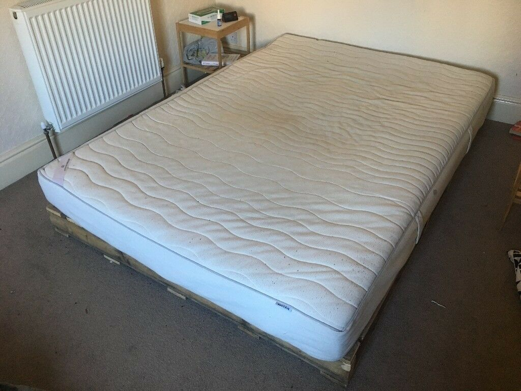 Double Bed Or Separate Bed Base And Latex Mattress In York