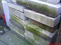 breeze blocks / stone blocks