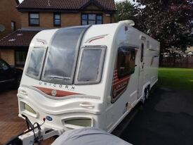 Bailey Unicorn Cartagena touring caravan with mover fitted 2013.