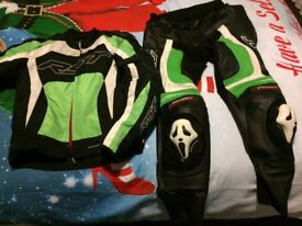 RST race tec evo pro jacket & trousers
