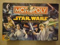 Monopoly Star Wars Saga Edition Board Game