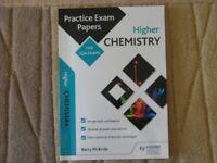 HIGHER CHEMISTRY PRACTICE EXAM PAPERS