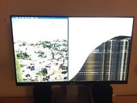 Dell Ultrasharp U2414H *Broken Screen*