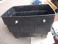 40 gallon cold water loft storage tank with lid