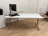 Large White Office Table