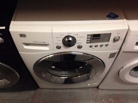 LG 9KG SPIN 1400 SPIN WASHING MACHINE WHITE RECONDITIONED
