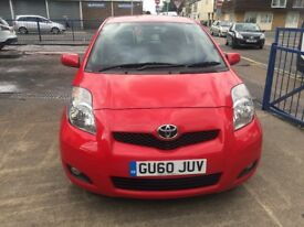THIS 2010 TOYOTA YARIS COMES WITH ECONOMICAL ENGINE, IMMACULATE CONDITION AND NEW W MOT