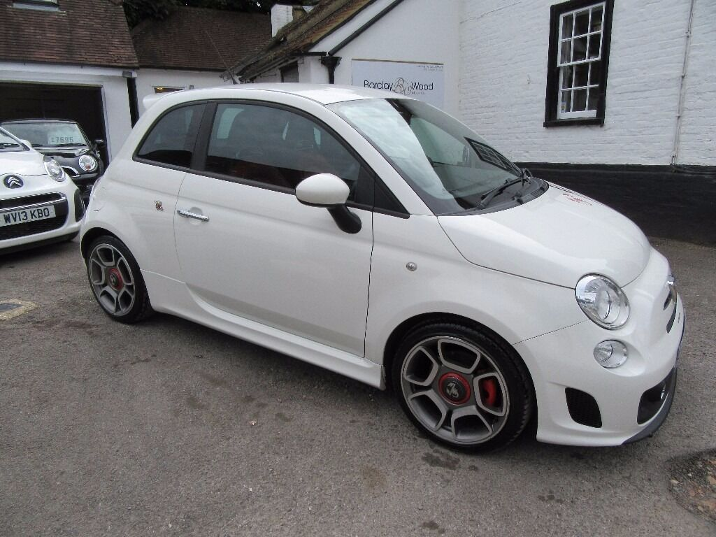 Fiat 500 Arbarth New Exhaust Red Leather Sport Seats And