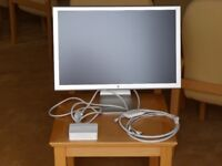 "Apple Cinema Display HD 23"" LCD Monitor + A1097 power adapter"