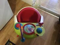 Mamas and Papas baby chair with play tray