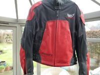 MOTORCYCLE JACKET - BERIK LEATHER AND TEXTILE (LADIES)