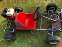 RESERVED Go-Kart Stratos Grass Petrol 4.0hp Honda engine 40-45mph