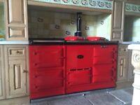 Aga - Red 4 oven Aga