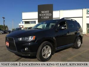 2010 Mitsubishi Outlander LS 3.0L V6 4X4 | 4WD | NO ACCIDENTS Kitchener / Waterloo Kitchener Area image 1