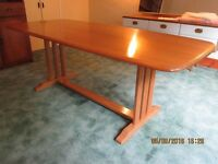 "Ercol 6' 6"" Dining Table"