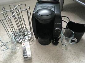 tassimo coffee machine hardly used and extras