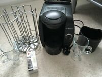 tassimo coffee machine hardly used and extras