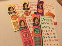 Carol Vorderman Maths and English workbooks for 5-7 year olds