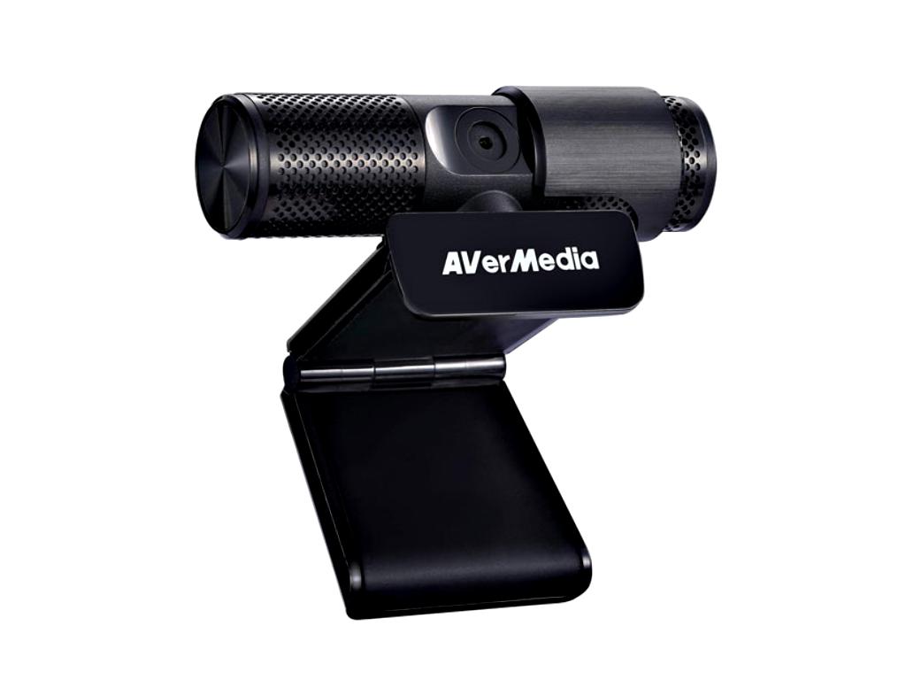 AVerMedia CAM 313 | Full HD Webcam | 1080p | USB | Dual Mikrofon | Sichtschutz