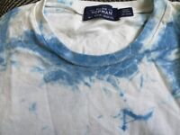 TopMan Tied Died T-Shirt Brand New! UK SMALL