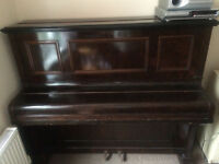 Piano ready for collection