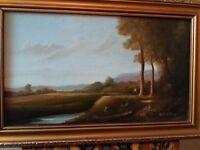 Oil painting bt irwin