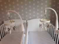 Mamas and Papas Twin Musical Cot Mobile