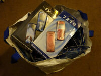 Nokia job lot diverse assortment of covers, shells, (models 7210,2600 etc)