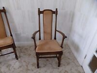 ERCOL - HAMPTON Dining Chairs x 6 In Showroom Condition