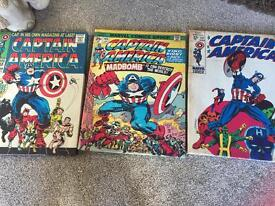 3x Captain America canvases A3size