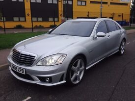 Mercedes-Benz S Class 6.2 S63 AMG Limousine 2008 FULL MERCEDES HISTORY LOW MILEAGE JUST SERVICED