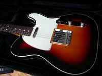 Gorgeous Fender Squier Classic Vibe Telecaster cased sunburst double bound edges