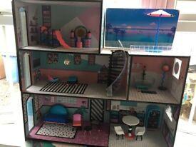 Large LOL dolls house