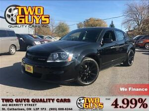 2013 Dodge Avenger BLACK TOP PACKAGE NICE LOCAL TRADE IN!