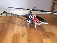 Titan X50 3d Nitro RC Heli