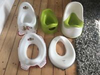Paw patrol Ikea potty toilet training seat bundle