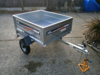 BRAND NEW ERDE 122 TRAILER (NEVER BEEN USED ON THE ROAD).