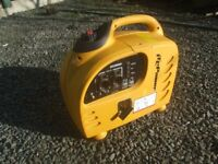 INVERTER GENERATOR Suitcase type quiet high output – mobile, stand by, camping, leisure.