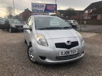 06 TOYOTA YARIS T3 1.0 PETROL IN SILVER *PX WELCOME* MOT TILL JULY 2018 £2295