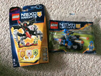 Lego Nexo knights- new - Lavaria & a Knights cycle
