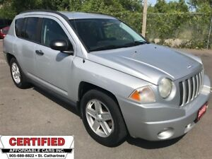 2007 Jeep Compass Sport ** AUX. IN, ALLOYS **