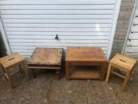 Job lot Oak wood Table