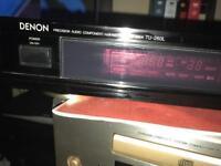 Denon Retro tuner hifi separates