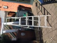 Aluminium Step Ladders, 5 Steps with platform top step