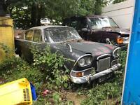 1963 Humber Sceptre twin headlight model 1.6 Barn Find Running